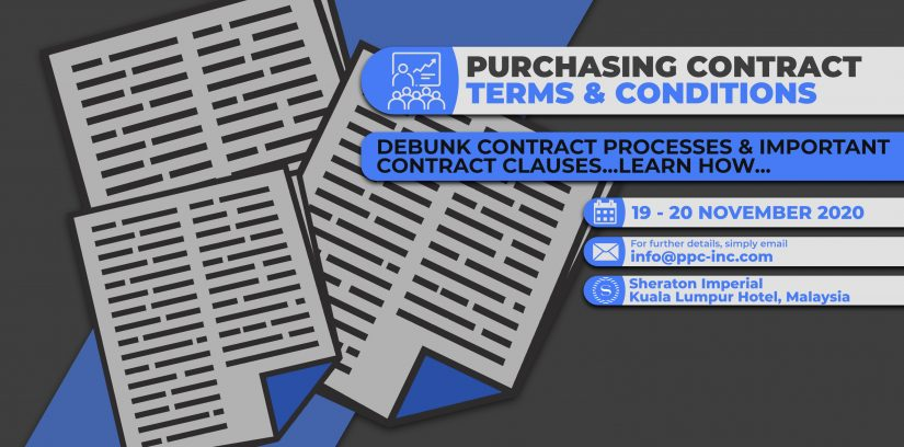 PURCHASING CONTRACT TERMS AND CONDITIONS